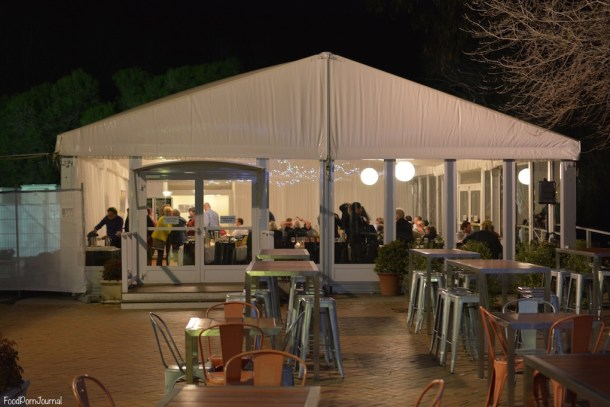 Southern Cross Yacht Club marquee