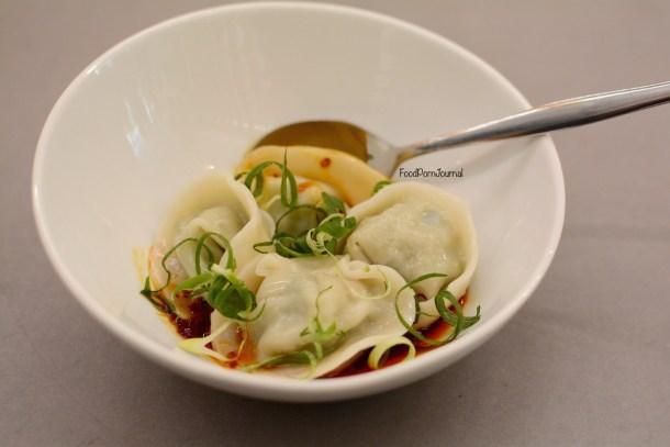 XO restaurant dumplings