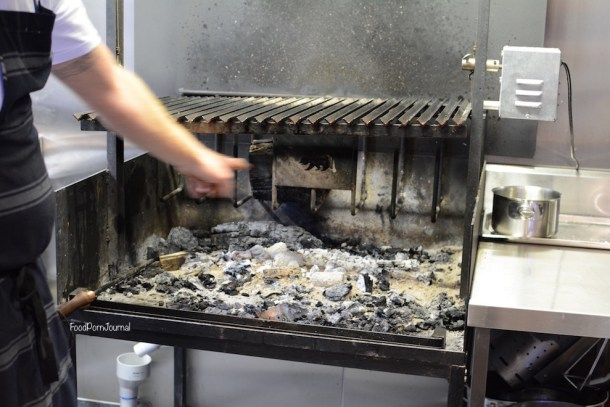 Pialligo Estate Farmhouse kitchen coals