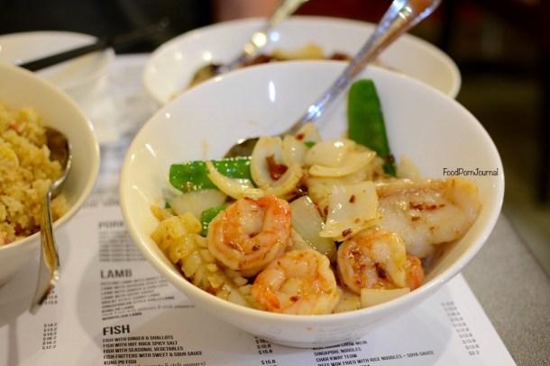 Orient Kitchen XO seafood