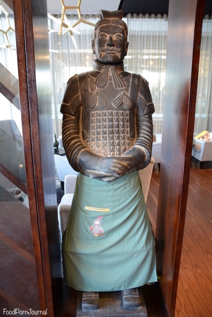 Cinnabar Kingston Foreshore warrior statue