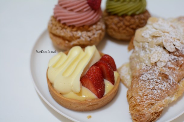 Chu Bakery Perth strawberry and cream tart
