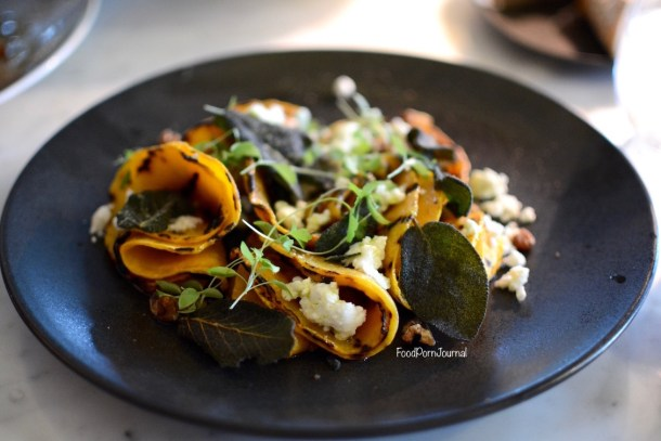 Buvette Barton pumpkin salad