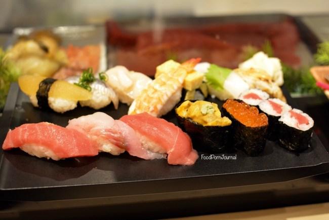 Tokyo Sushi Zanmai platter