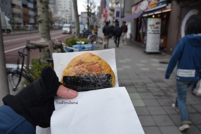 Tokyo Tsukiji onigiri