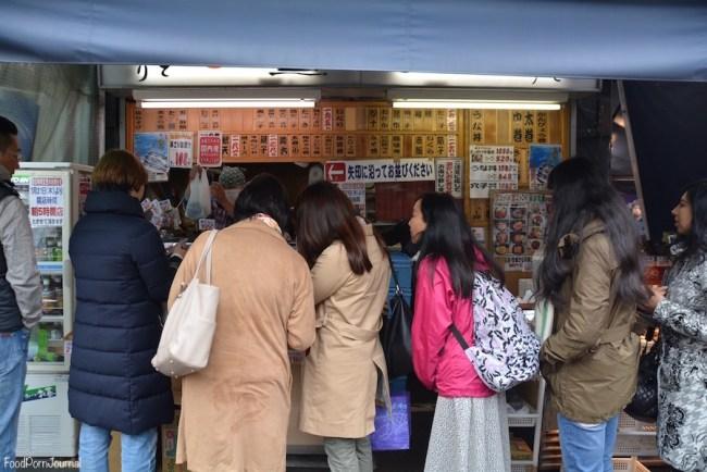 Tokyo Tsukiji queue