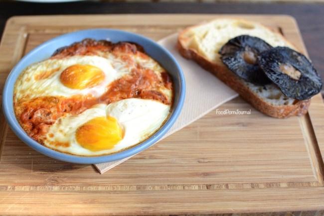 Public Manuka baked eggs