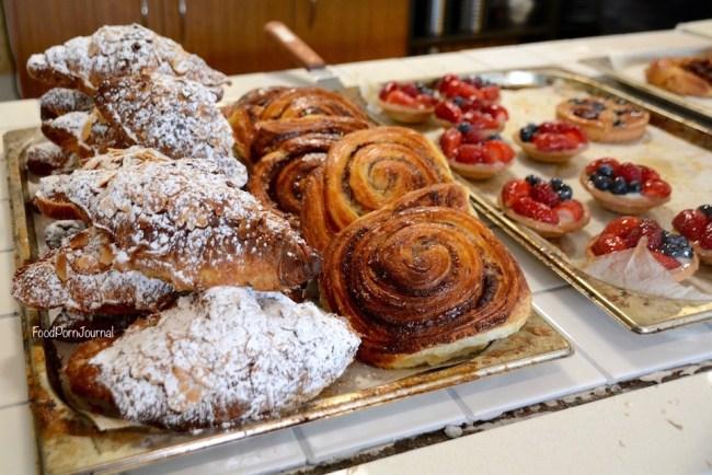 Three Mills Bakery pastries