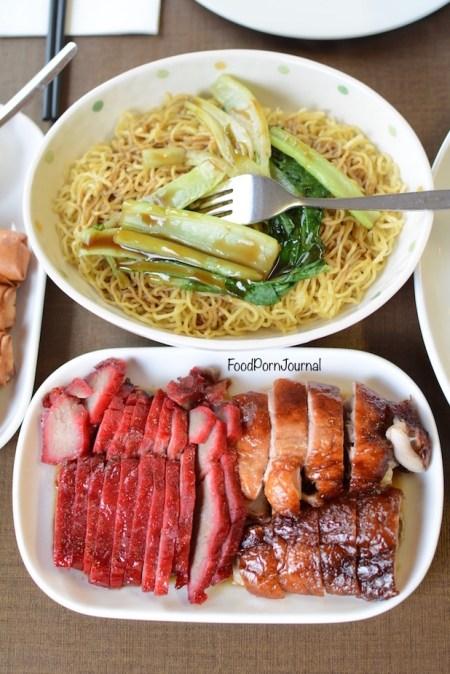 Empire BBQ Cafe Dickson BBQ pork roast duck noodles