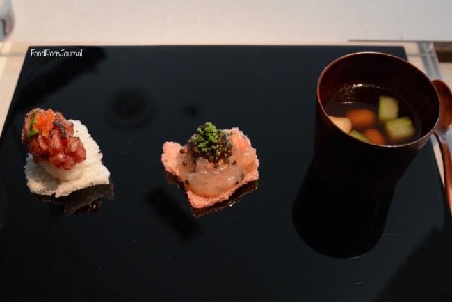 Narisawa Tokyo Omi beef sea snake soup