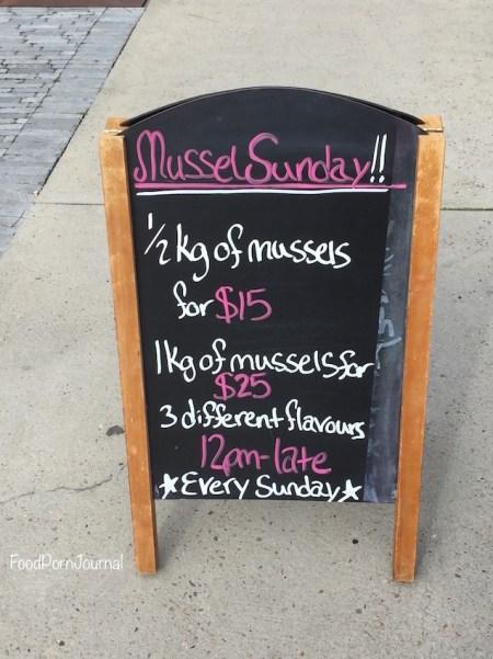 C DIne Bar mussel sunday