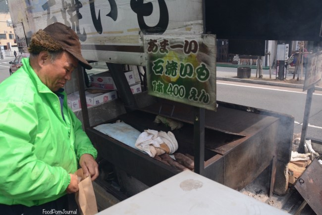 Japan Matsumoto yaki imo pedlar