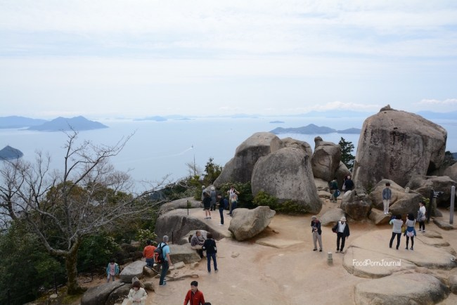Japan Miyajima Island Mt Misen summit