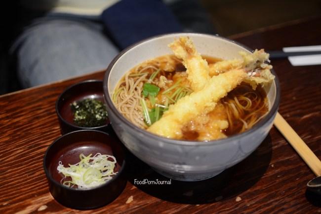 Japan Nagano Sobakiri Miyota soba tempura