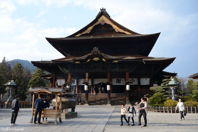 Japan Nagano Zenkoji Temple
