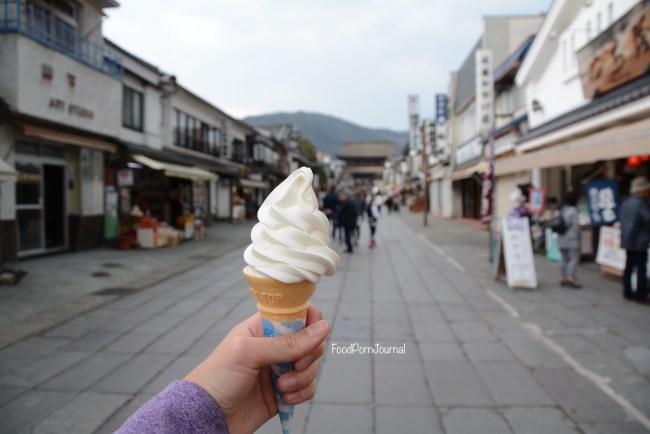 Japan Nagano amazake ice cream