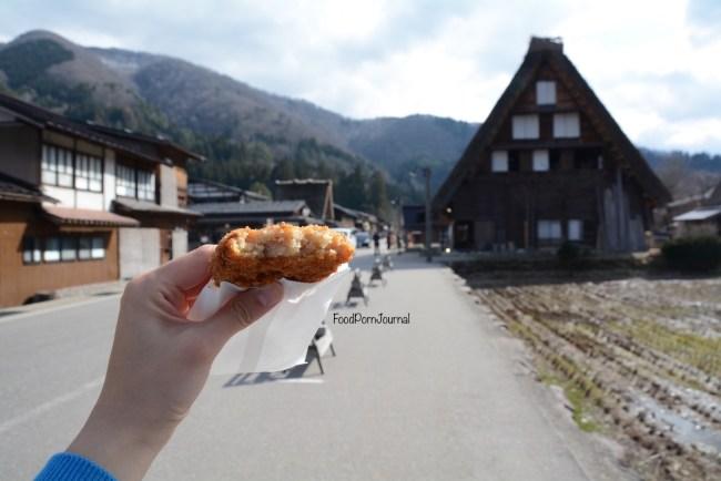 Japan Shirakawa go snack food