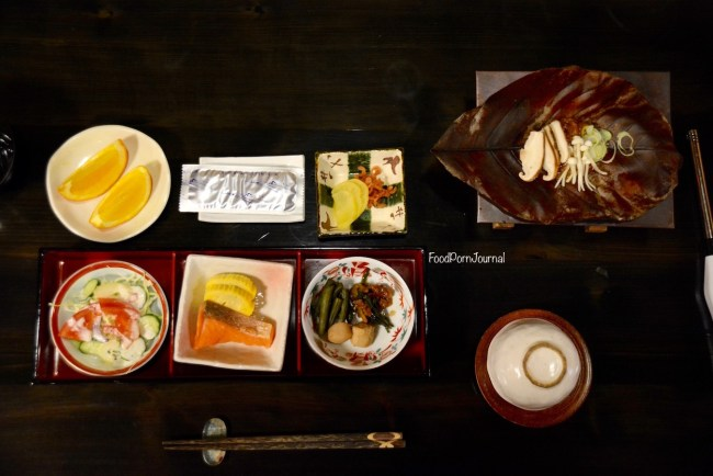 Japan Takayama Minshuku Kuwataniya breakfast