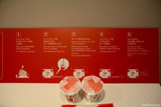 Osaka Japan Momofuku Ando Cup Noodle Museum