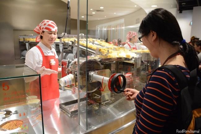 Osaka Japan Momofuku Cup Noodle Museum making noodles