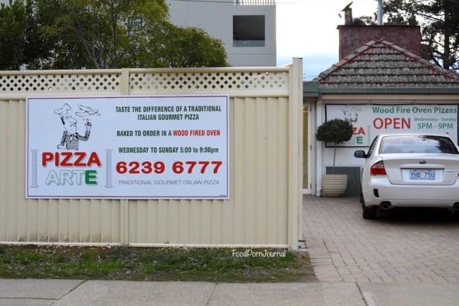 Pizza Arte Kingston outside