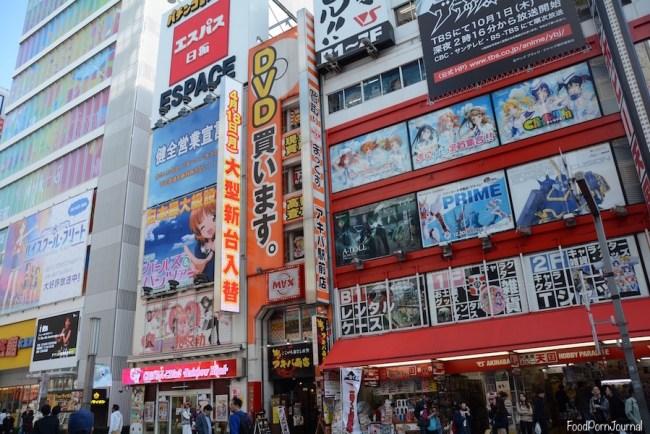 Tokyo Akihabara street