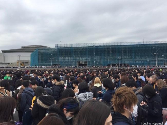 Tokyo Bigsight Anime Japan queue
