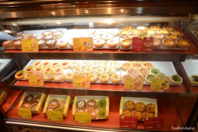 Osaka Japan Dotonburi Lord Stow's tarts