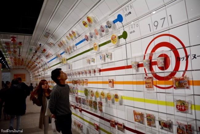 Osaka Japan Momofuku Ando Instant Ramen Museum timeline