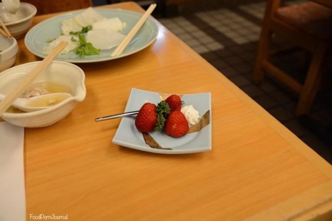 Osaka Japan Zuboraya dessert