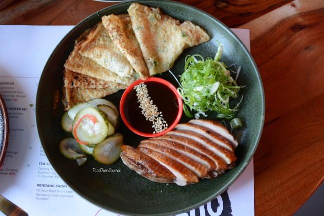 Neho Asian Tapas Perth tea smoked duck breast