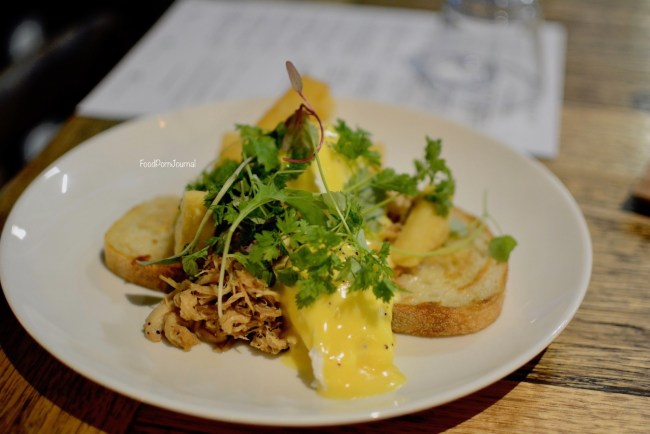 Hash Specialty Coffee Melbourne pork benedict breakfast