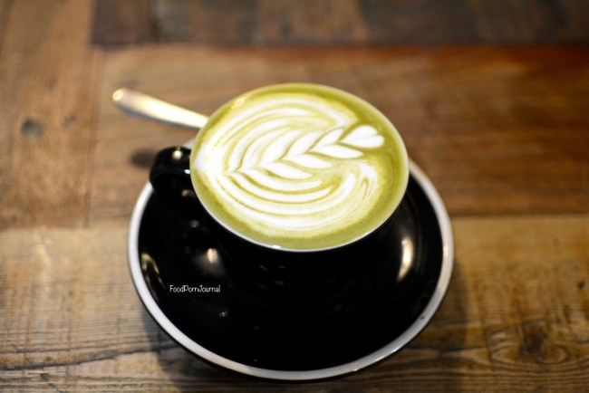 Manchester Press matcha latte