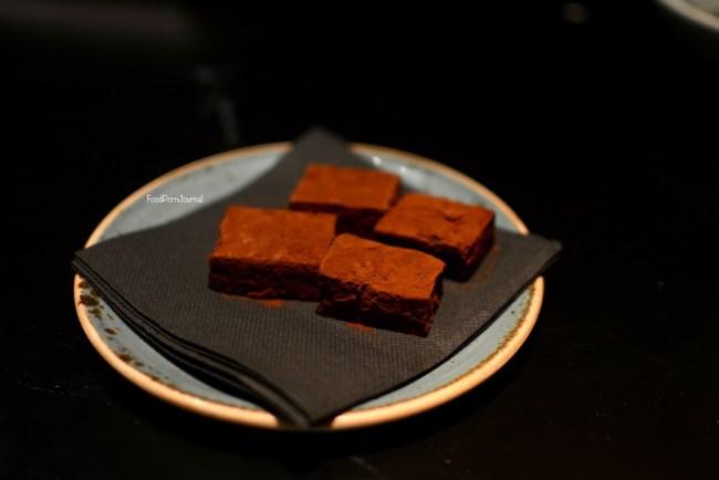 Spice Temple chocolate truffle