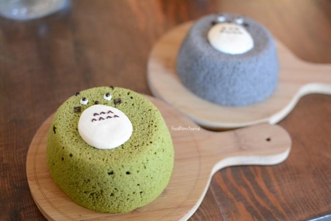 Cuppaflower Totoro chiffon cakes