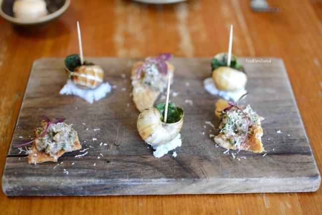 Les Bistronomes escargot