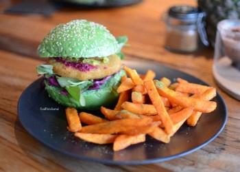 Matcha Mylkbar matcha chicken burger