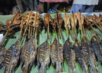 Luang Prabang Night Markets skewers