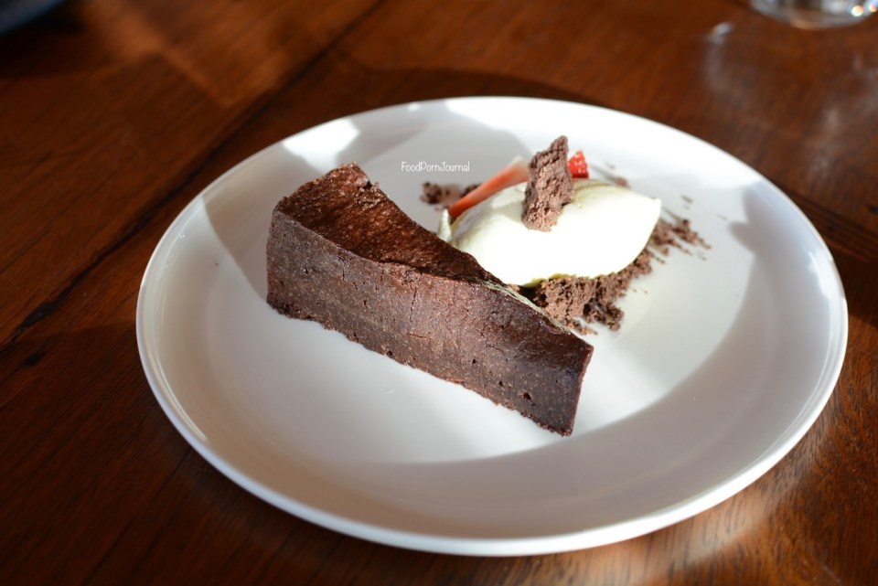 Pialligo Estate Farmhouse chocolate cake