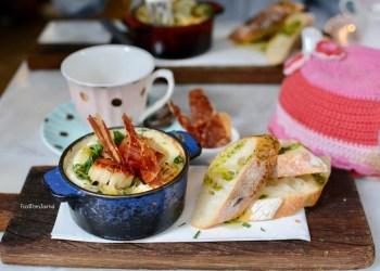 Hardware Societe Melbourne scallop baked eggs