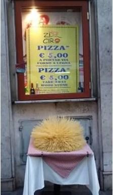 Even spaghetti noodles are pretty in Rome
