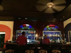 vintage Jamaican bar