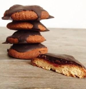 Jam koekjes