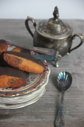 Dambord koekjes met chocolade -Paleo