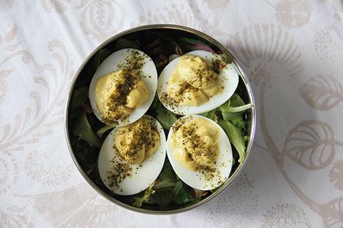 gevulde eieren
