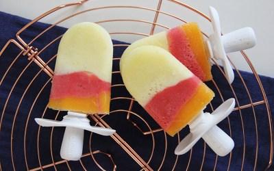 3 kleuren popsicles