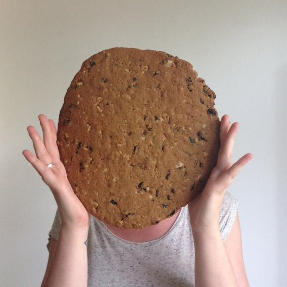 giant breakfast cookie