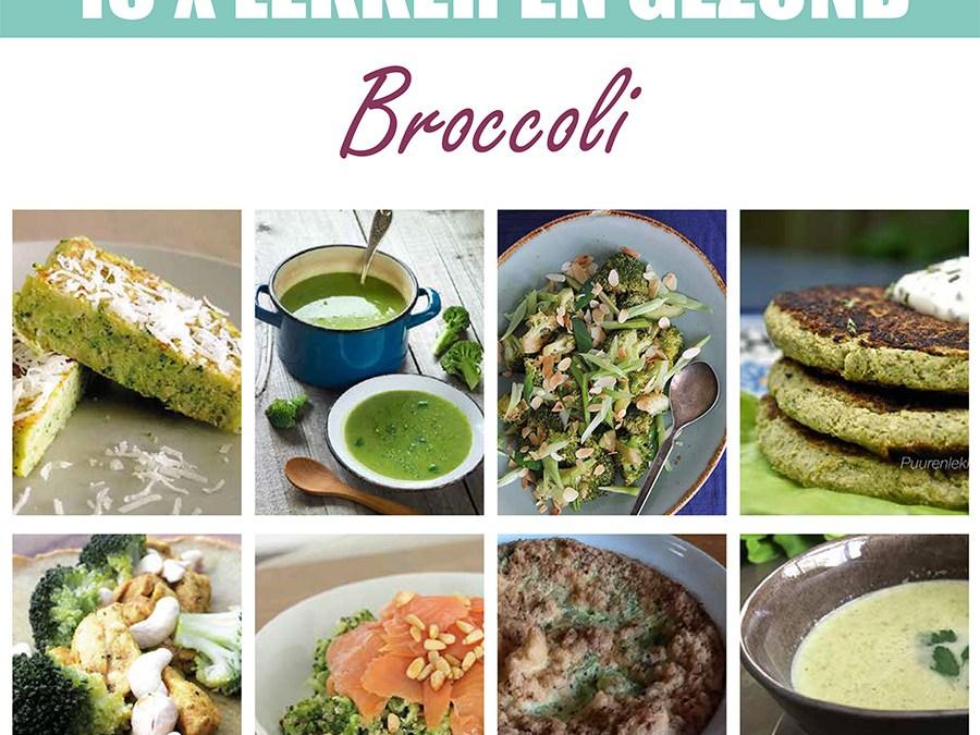 15x lekker en gezond: Broccoli