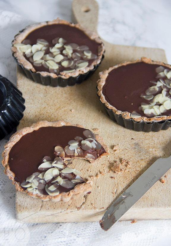 chocolade taartjes