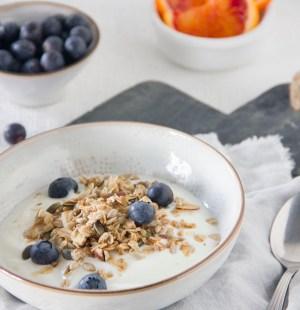 Ontbijt yoghurt